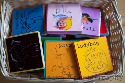 Mod Podge Your Child's Artwork to Anything