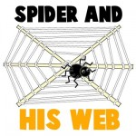 Halloween Spider and his Web Craft.