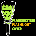 How to Make a Frankenstein Flashlight Cover