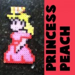 How to Make Princess Peach from Super Mario Bros. with Perler Beads