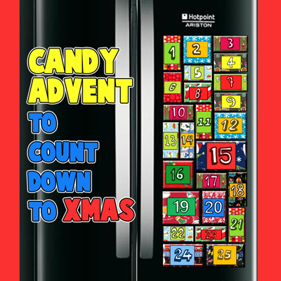 How to Make a Candy Advent Calendar to Count Down to Christmas