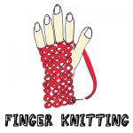 How to Finger Knit - Finger Knitting