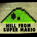 How to Make the Hills from Super Mario Bros. with Perler Beads
