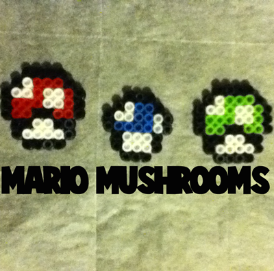 How To Make Mario Mushrooms From Super Mario Bros With