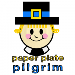 How to Make a Paper Plate Pilgrim for Thanksgiving