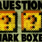 How to Make Question Mark Boxes from Super Mario Bros. with Perler Beads