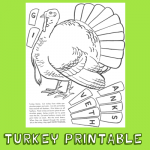 How to Play the Turkey Game – Turkey Printable