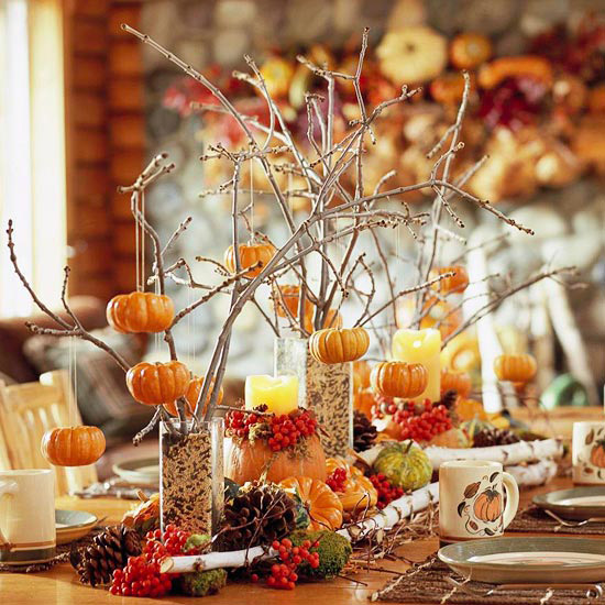 Ideas for Crafty Table Decorations for Thanksgiving