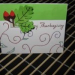 How to Make a Thanksgiving Card