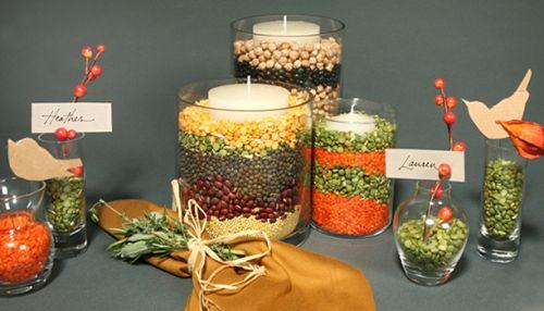 Vase Centerpieces