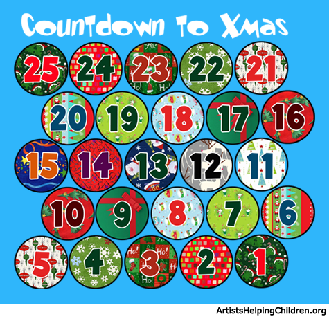 image about Free Printable Advent Calendar Template called How in the direction of Create a Bubble Wrap Arrival Calendar - Little ones Crafts