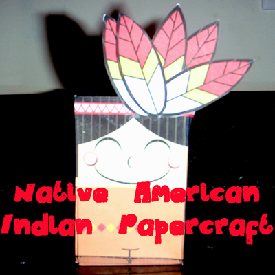 How to Make an Indian Boy out of Paper