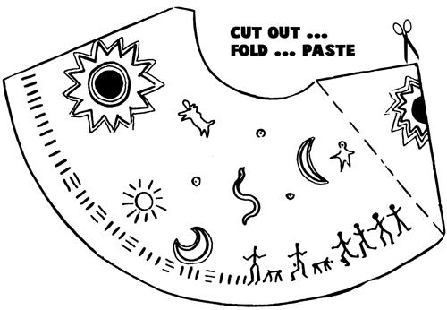 Cut out... Fold... Paste.