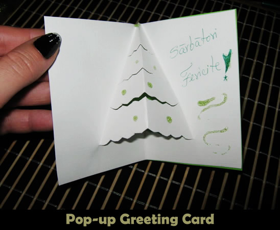 How to make a pop up christmas card kids crafts activities how to make a pop up christmas card m4hsunfo
