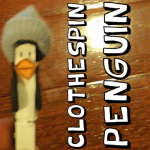 How to Make a Clothespin Penguin Ornament
