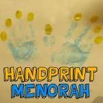 How to Make a Handprint Hanukkah Menorah