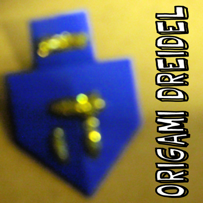 How to Make an Origami Dreidel for Hanukkah