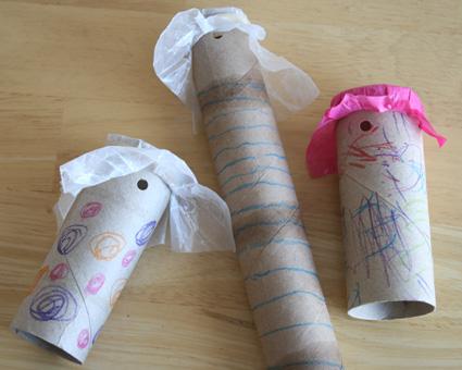 Paper Roll Noisemaker