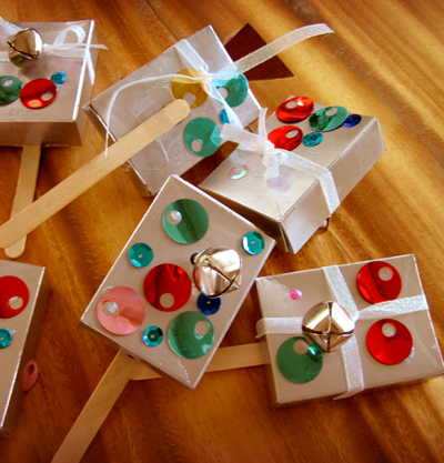 Crafty Ways to Make New Years Noisemakers