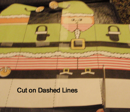 Cut out on dashed lines.