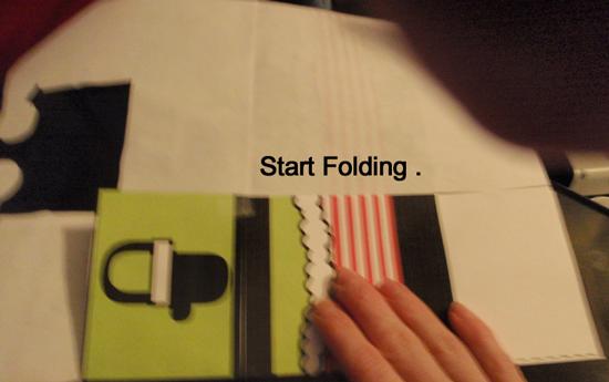 Start folding.