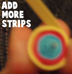 Add more strips.