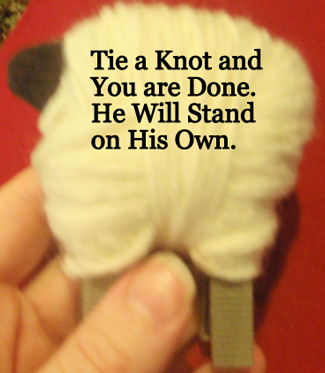 Tie a knot and you are done