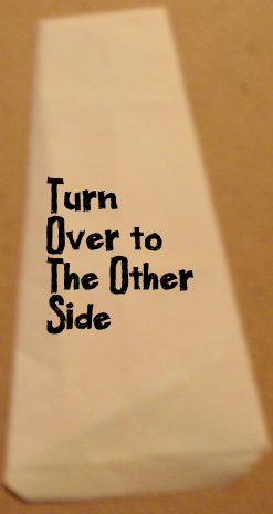 Turn over to the other side.