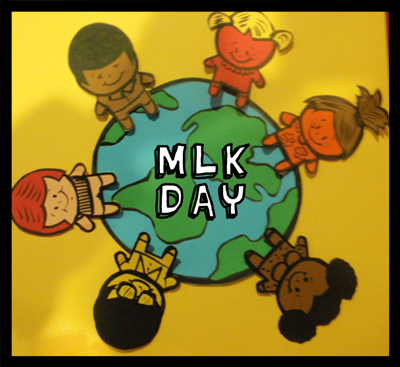 Multicultural Kids Around Earth Craft for Martin Luther King Day