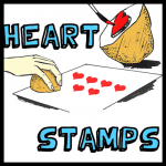 How to Make a Potato Heart Stamp