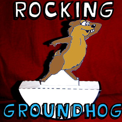 How to Make a Rocking Groundhog for Groundhog's Day