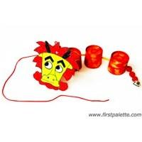Pull-A-Long Dragon Craft