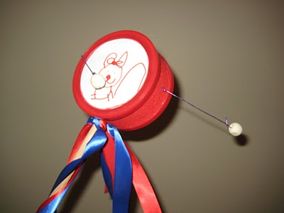 Toy Spinning Hand Drum