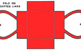 Color template for Doily Heart Box