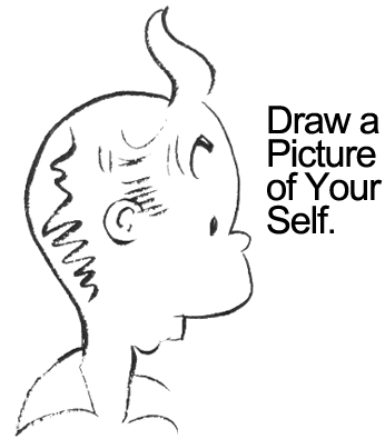 Draw a picture of yourself.