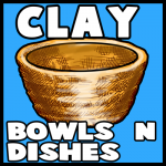 How to Make Clay Bowls and Dishes