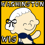 How to Make a George Washington Wig