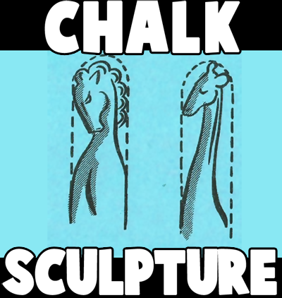 How to Make Chalk Sculptures