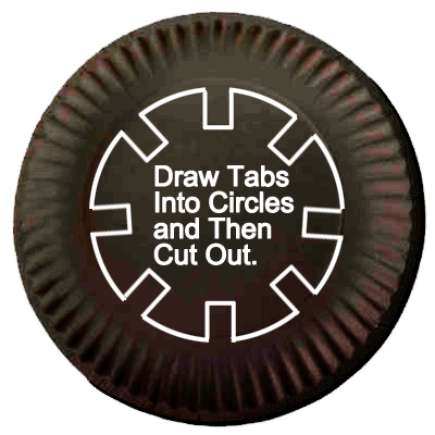 Draw tabs into circles and then cut out.