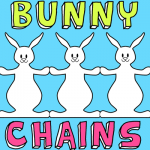 How to Make an Easter Bunny Chain