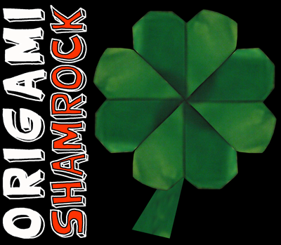 How to Make an Origami Shamrock