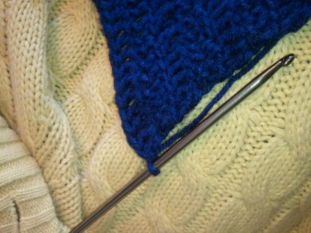 When you decide your crocheted blanket is finished you will want to end it correctly.