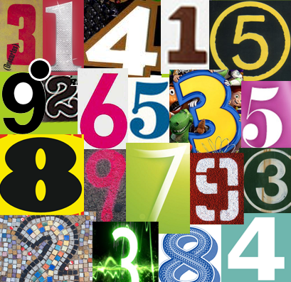 How to Make a Collage for Pi Day 3-14