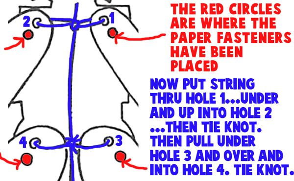 String holes the way image says to