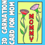 How to Make a 3D Carnation Mother