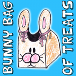 How to Make Bunny Rabbit Treat Bags for Easter