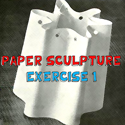 How to Make a Paper Wave Sculpture