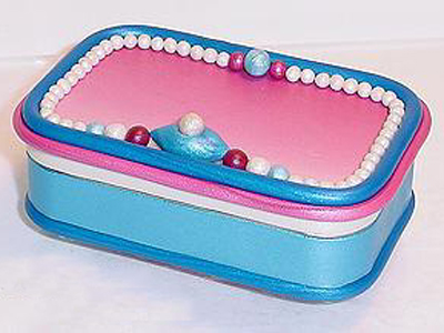 Altoid Tin Jewelry Box