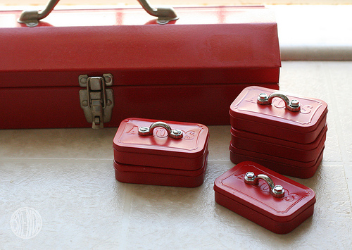 Altoid Tin Mini Toolboxes