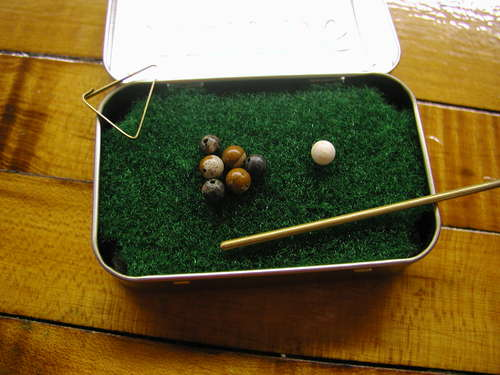Pocket Yard Pool Table